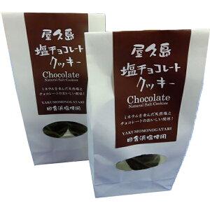 屋久島塩チョコレートクッキー