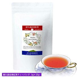 屋久島在来紅茶ティーバッグ(3g×30p)《私たちが作った屋久島自然栽培茶です》【#元気いただきますプロジェクト】