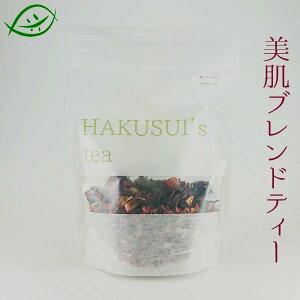 HAKUSUI's tea 美肌ブレンドティ 50g オレンジピール・ローズレッド・ローズヒップ・ハイビスカス