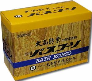 【医薬部外品】大高酵素の酵素浴剤 浴用バスコーソ 100gx6袋