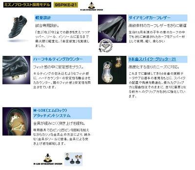 ★2007年モデル★ミズノ★ゲーム専用★革底スパイク★ビクトリーステージタクミ★2KW10100★