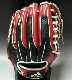 ★★ R8783 ★ red X black for the 40%OFF ★ <adidas> Adidas general rubber-ball glove ★ クライマクール OF ★ outfielder: 523036★