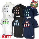 ゼット ZETT ファミスタ30週年記念 限定品 ファミスタ×ZETTコラボレーションTシャツ BOT17FS1 BOT17FS2