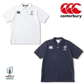 カンタベリー RWC2019 ラグビーワールドカップ2019(TM) カンタベリー公式ライセンス商品 ショートスリーブラガーポロシャツ VWD39103