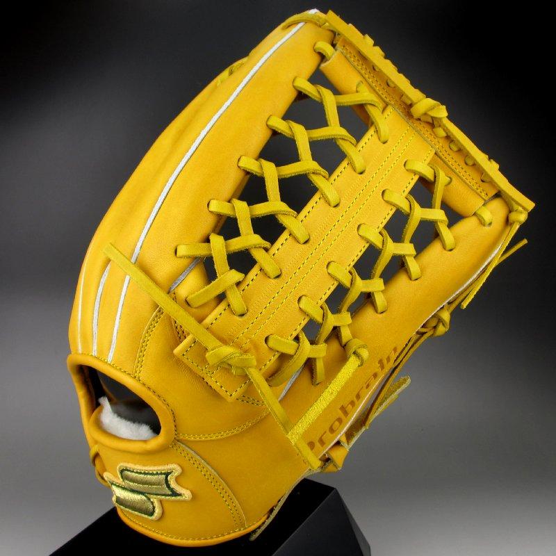 【送料無料】 30%OFF 2016年モデル エスエスケイ SSK 硬式グラブ 外野手用 右投げ プロブレイン Probrain PHX67 (46)ターメリックタン