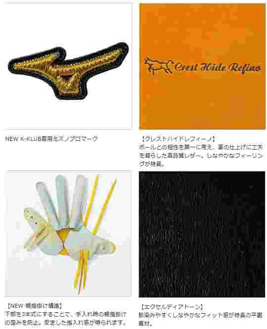 【送料無料】 2015年モデル K-KLUB展示会限定色 ミズノプロ スピードドライブテクノロジー 一般軟式 投手用 1AJGR12001 52H:スプレンディッドオレンジ 左投げ