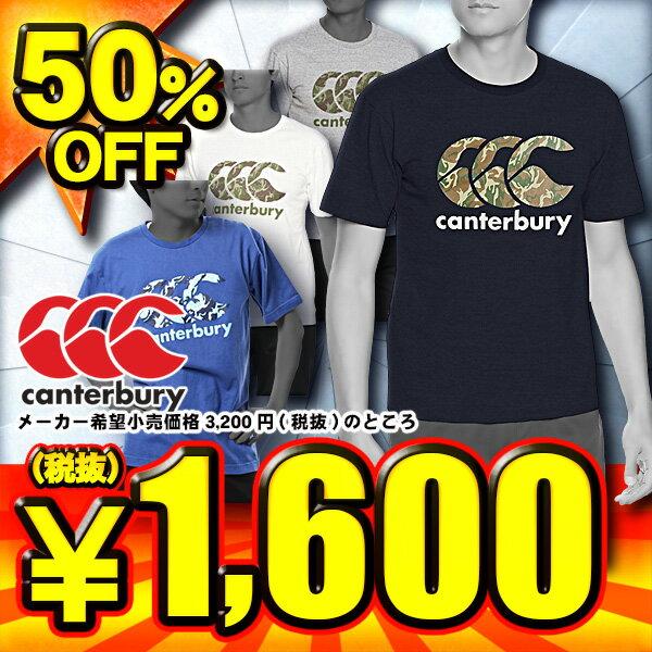 カンタベリー canterbury メンズ半袖Tシャツ RA37409 4色展開【SP0901】