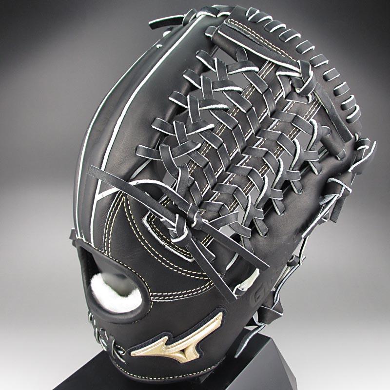 【送料無料】 2015年K-KLUB限定モデル ミズノ グローバルエリートFCライン 一般硬式内野手用H3 1AJGH12223 09:ブラック 右投げ