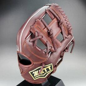 ゼット 少年軟式 二塁手 遊撃手 右投げ ゼロワンステージ BJGB71910 (3700A) チョコブラウン