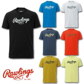 2019年モデル ローリングス スクリプトロゴTシャツ AST9S11 7色展開