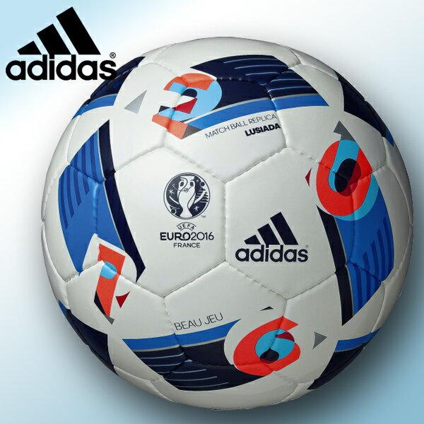 EURO2016レプリカ アディダス Adidas サッカーボール5号 ボージュルシアーダ AF5152LU