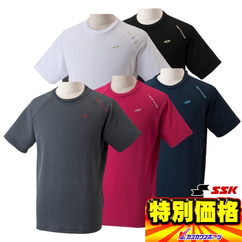 お買い得品 エスエスケイ SSK メンズ機能Tシャツ半袖 吸汗速乾DRYBODY NIGHT RUNNER NTR721T 4色展開【SP0901】