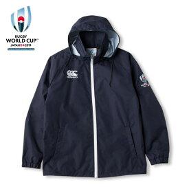 【送料無料】カンタベリー RWC2019 ラグビーワールドカップ2019(TM) カンタベリー公式ライセンス商品 フィールドジャケット メンズ ネイビー VWD79260-29