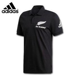 adidas アディダス オールブラックスサポーターポロ ポロシャツ ラグビーニュージランド代表 FXK27-DY3830