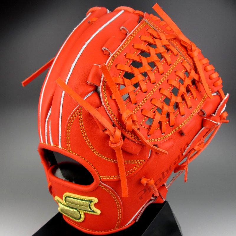 30%OFF 【送料無料】 2015年モデル エスエスケイ SSK 一般硬式二塁 遊撃手用 右投げ プロブレイン PLX-54(33)レディッシュオレンジ