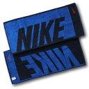 ナイキ NIKE ジャガード タオル ミディアム 35cm×80cm TW2514 (444)ブルーボイド/シグナルブルー