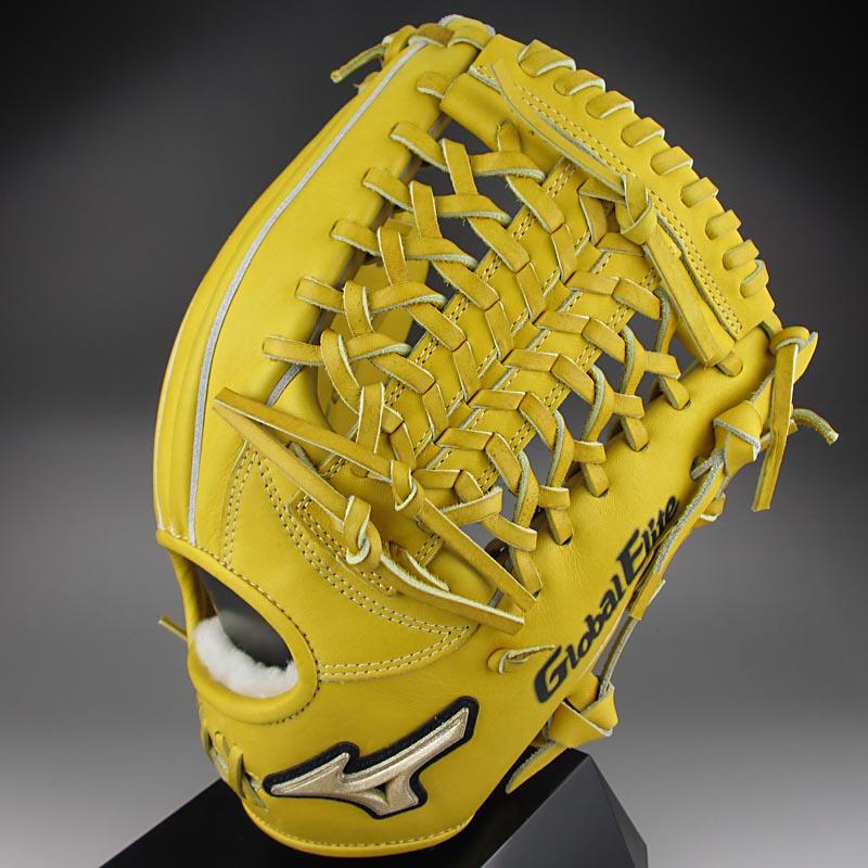 【送料無料】 2015年K-KLUB限定モデル ミズノ グローバルエリートFCライン 一般硬式内野手用H3 1AJGH12223 47:ナチュラル 右投げ