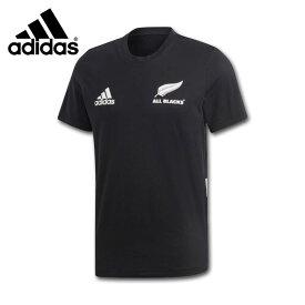 adidas アディダス オールブラックスコットンT ラグビーニュージーランド代表Tシャツ FLX90-DN5991