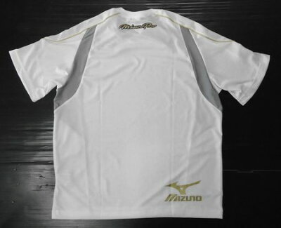 2012年展示会限定品ミズノプロTシャツ52TA72301ホワイト定価5,040円の品