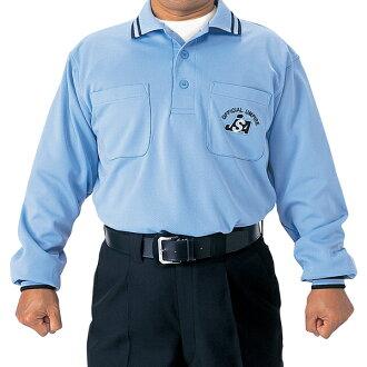 SSK JSA 長袖裁判服裝 SSK UPW021 男裝中性粉藍色