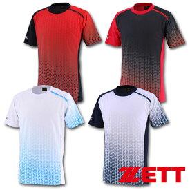 2019年展示会限定 ゼット ZETT プロステイタス 昇華プリントTシャツ BOT196T2 4色展開