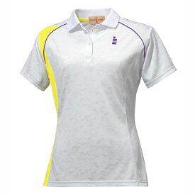 GOSEN(ゴーセン) レディースゲームシャツ ホワイト