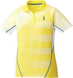 GOSEN(ゴーセン) 【レディース テニス・バドミントンウェア】 レディース ゲームシャツ イエロー