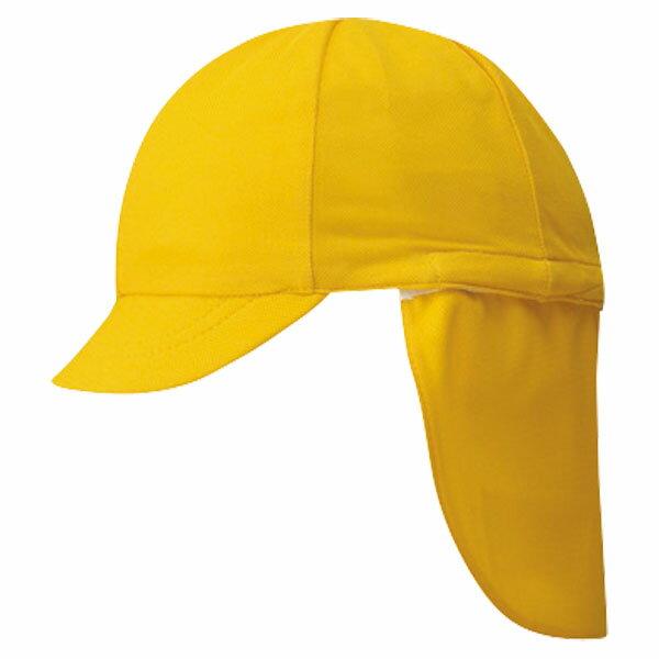 FOOTMARK(フットマーク) フラップ付き体操帽子(取り外しタイプ) イエロー