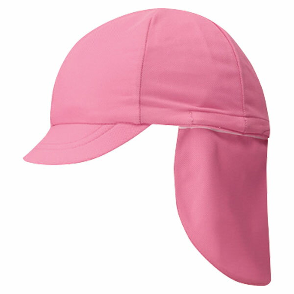 FOOTMARK(フットマーク) フラップ付き体操帽子(取り外しタイプ) ピンク