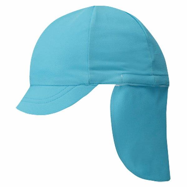FOOTMARK(フットマーク) フラップ付き体操帽子(取り外しタイプ) サックス