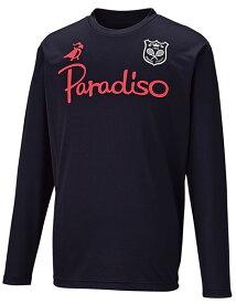 PARADISO(パラディーゾ) ユニセックス プラクティスシャツ ブラック