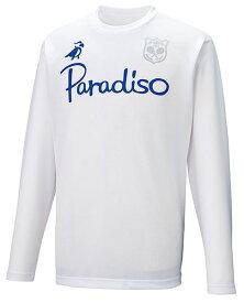 PARADISO(パラディーゾ) ユニセックス プラクティスシャツ ホワイト