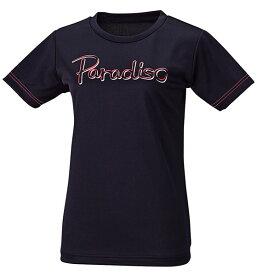 PARADISO(パラディーゾ) レディース テニスウェア レディス プラクティスシャツ ブラック
