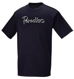 PARADISO(パラディーゾ) メンズ テニスウェア メンズプラクティスシャツ ブラック