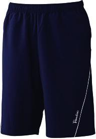 PARADISO(パラディーゾ) 男女兼用 テニスウェア ユニセックスハーフパンツ ブラック