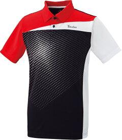 PARADISO(パラディーゾ) 男女兼用 テニスウェア ユニセックスゲームシャツ ブラック