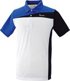 PARADISO(パラディーゾ) 男女兼用 テニスウェア ユニセックスゲームシャツ ホワイト