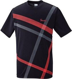 PARADISO(パラディーゾ) メンズ テニスウェア メンズゲームシャツ ブラック