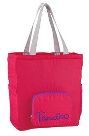 PARADISO(パラディーゾ) トートバッグ(ポケッタブル) ピンク