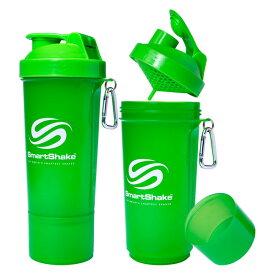 SMARTSHAKE(スマートシェイク) スマートシェイク シェイカーボトル スリム ネオングリーン