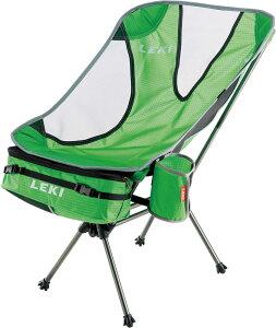 LEKI(レキ) アウトドア キャンプ 折りたたみ式 椅子 サブ ワン ライトウエイト 550グリーン