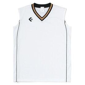 CONVERSE(コンバース) ウィメンズゲームシャツCB36712 ホワイト/ブラック
