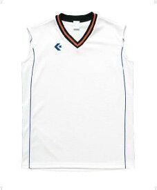 CONVERSE(コンバース) ウィメンズゲームシャツCB36712 ホワイト/Rブルー