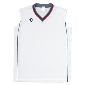 CONVERSE(コンバース) ウィメンズゲームシャツCB36712 ホワイト/ネイビー