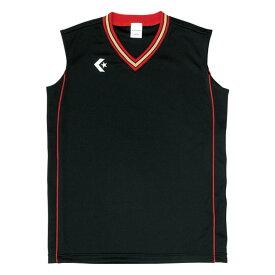 CONVERSE(コンバース) ウィメンズゲームシャツCB36712 ブラック/レツド