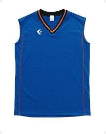 CONVERSE(コンバース) ウィメンズゲームシャツCB36712 Rブルー/オレンジ
