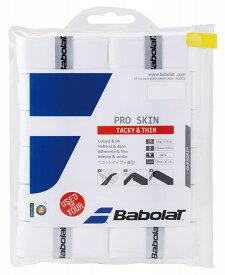 Babolat(バボラ) バボラ プロスキン×12 ホワイト