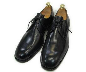 【中古】【送料無料】K-SHOES (ケーシューズ)9 (約28.0-28.5cm)プレーントゥYALAKU-ヤラク-メンズビジネスシューズ・紳士靴