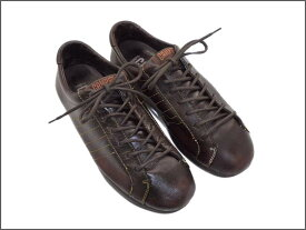 【中古】【送料無料】CAMPERカンペール約24.0-24.5cm レザースニーカー♪YALAKU-ヤラク-メンズスニーカー・紳士靴