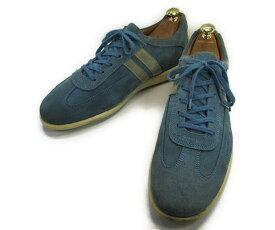 【中古】【送料無料】Kenneth Cole ケネスコール9 (約27.0-27.5cm) イタリア製 スエードスニーカーYALAKU-ヤラク-メンズビジネスシューズ・紳士靴